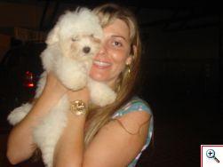 Penélope Vila Dog do canil da qureida amiga Mayra.